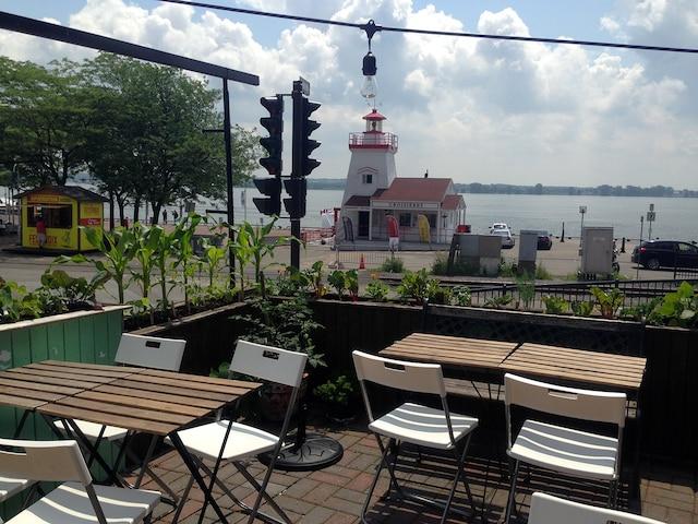 La terrasse du Café Frida