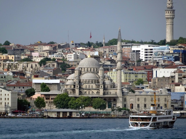 Istanbul, en Turquie, une ville qui a plus de 8000 ans d'histoire.