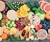 Bloc fruits santé Health Food with High Fiber Content