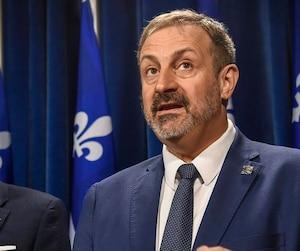 Sylvain Roy. Député péquiste