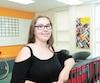 Sabrina Gingras, 16ans, participe au programme Passeport pour ma réussite à Verdun depuis qu'elle a commencé ses études secondaires. Le gouvernement veut aider les jeunes issus de milieux défavorisés à poursuivre leurs études.