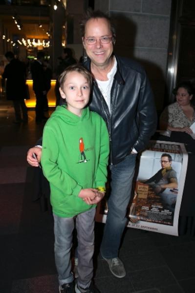 Denis Bouchard et son fils Léo
