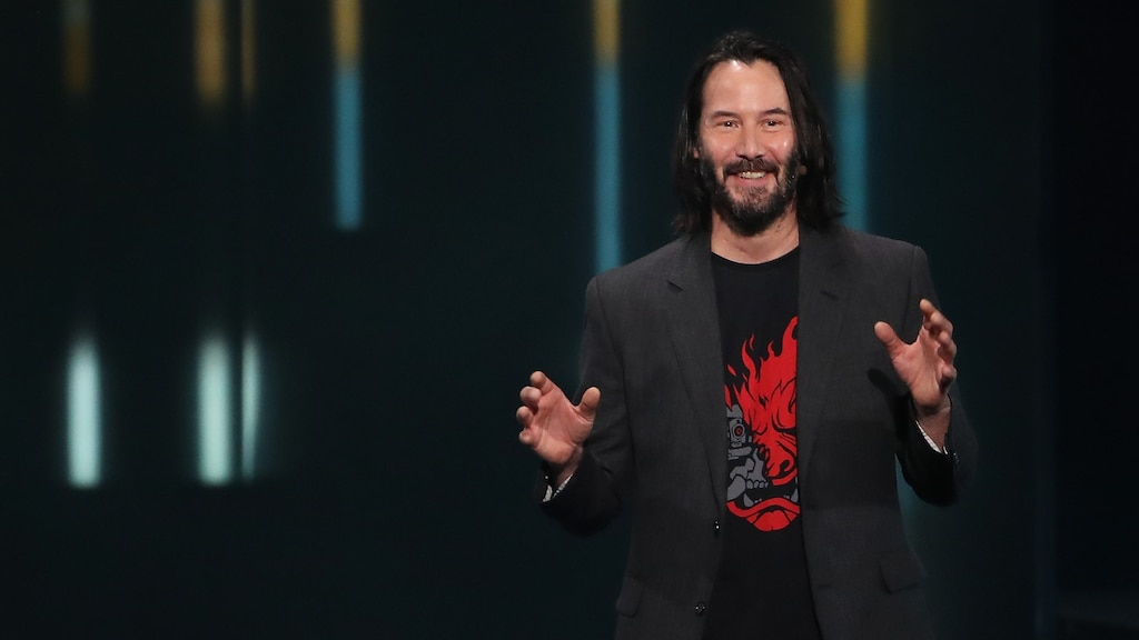 Copie de Cyberpunk 2077 offerte au gars qui a dit «you're breathtaking» à Keanu Reeves