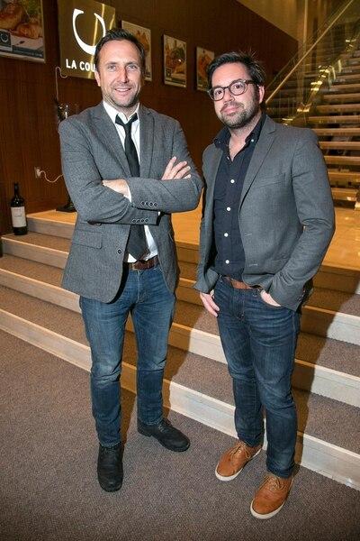 Jean-Michel Dufaux et Benoît Roberge
