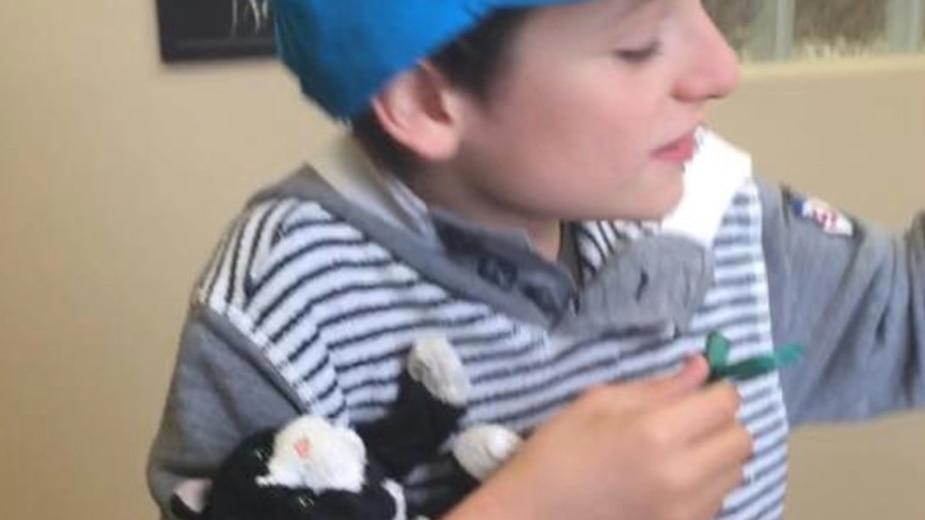 Ils soignent le «toutou» d'un enfant autiste