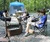 Isabelle Bélanger fait du camping depuis son enfance. Elle y a même emmené ses enfants alors qu'ils n'avaient que 9 et 10mois. Elle et son conjoint, Michel Roussin, ont décidé d'investir dans une tente neuve pour avoir plus de confort.