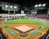 Le coup d'envoi à la Série mondiale 2019 a été donné à Houston, hier.