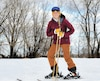 Catherine Boucher s'attaque à l'épreuve de ski du 24h Tremblant ce week-end en solo, une première pour la 18eédition de cet événement caritatif visant à récolter des dons pour appuyer des organismes pour le mieux-être des enfants.