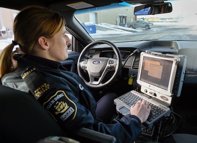 Voici le nouveau véhicule du SPVQ | Le Journal de Québec