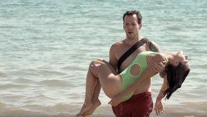 Maripier Morin sauvée des eaux