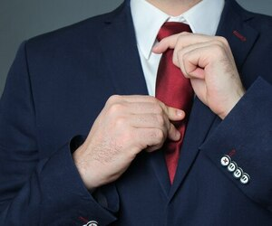 Veston cravate