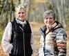 Johanne Laberge et Sonia Lafond ont marché 480km, de Lévis à Baie-Comeau, afin de récolter des fonds pour la Fondation du cancer du sein.