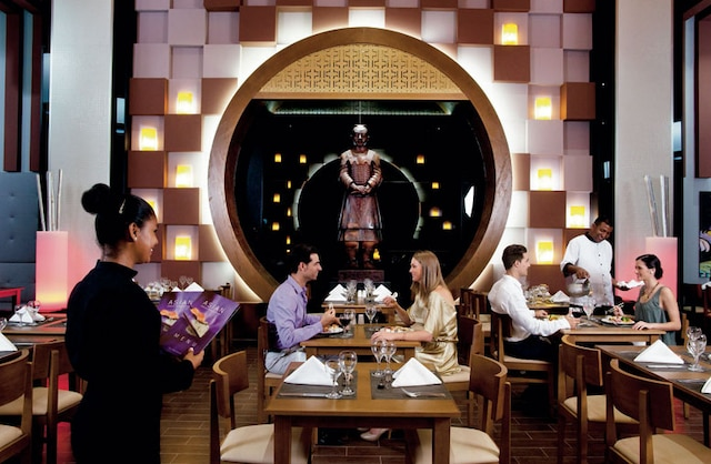 Le restaurant asiatique