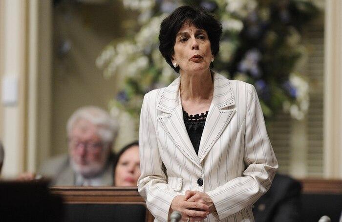 Michelle Courchesne (photo) était «très près» du maire Gilles Vaillancourt, semble-t-il.