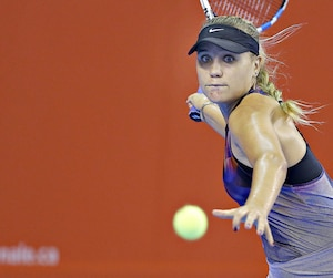 Sofia Kenin tentera d'éliminer la première tête de série, Lucie Safarova, jeudi soir, dans le dernier match de la soirée sur le court central du PEPS de l'Université Laval.
