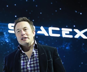 Elon Musk de Tesla Motors et SpaceX.