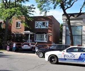 Une octogénaire a été poignardée à mort dans une demeure de la rue de Beaurivage, dans l'arrondissement Mercier–Hochelaga-Maisonneuve.