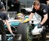 Lewis Hamilton est maintenant à une position de tête (avec 68) du record de Michael Schumaker en F1.