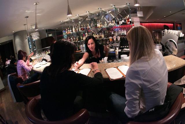 Soirée privée au restaurant La Coupole à l'occasion du lancement du nouveau menu.