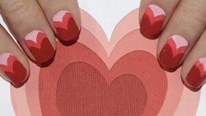Image principale de l'article Look beauté de la Saint-Valentin: Le Nail Art en coeur