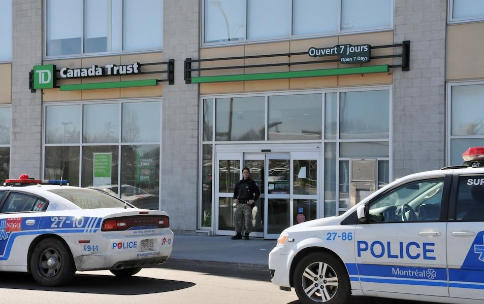 Tentative de vol qualifié dans une banque: un agent de sécurité est blessé