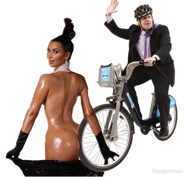 Kim Kardashian a rapidement été parodiée.