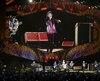 Les Stones lors du fameux concert historique à Cuba.