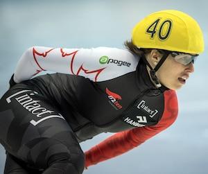 Marianne St-Gelais a terminé la journée d'hier avec des neuvième (1500 m) et sixième (500 m) positions.