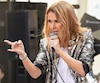 "US-CELINE-DION-PERFORMS-ON-NBC'S-""TODAY"""