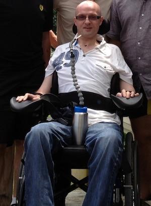 Pierre Mayence était tétraplégique depuis un accident de parachute en 2010.