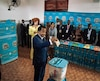 Le président sortant du Cameroun, Paul Biya, vote lors des élections présidentielles, le 7 octobre à Yaoundé.