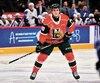 En 18 matchs cette saison, Justin Barron a inscrit deux buts et récolté dix points avec les Mooseheads d'Halifax.