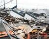 L'ouragan Michael a ravagé les côtes du nord-ouest de la Floride, mercredi, en semant la dévastation sur son passage.