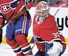 Cayden Primeau a signé un premier gain dans la LNH mercredi soir contre les Sénateurs d'Ottawa.