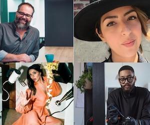 Frederic, Catia, Véronique et Kevin Reggie ont tous laissé tomber un emploi stable pour travailler à leur compte.