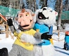 La fête des ours blancs du Zoo de Saint-Félicien se déroule ce week-end.