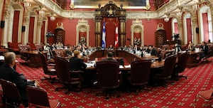 Henri-Paul Rousseau a répondu aux questions des élus lors de la commission spéciale des finances publiques, mais personne n'avait entendu les enregistrements des conversations qui montrent beaucoup de méconnaissance et d'improvisation.