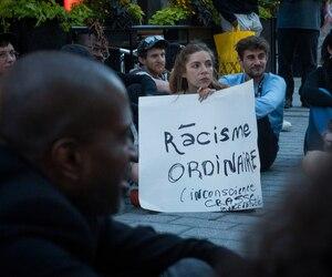 Manifestation anti-SLAV