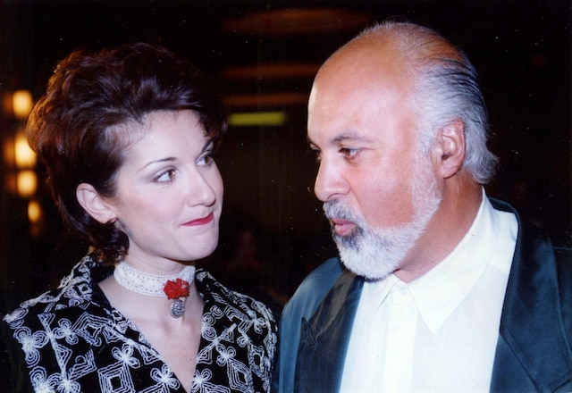 Céline Dion et René Angelil. 1993. Photo Luc Laforce / Le Journal de Montréal.