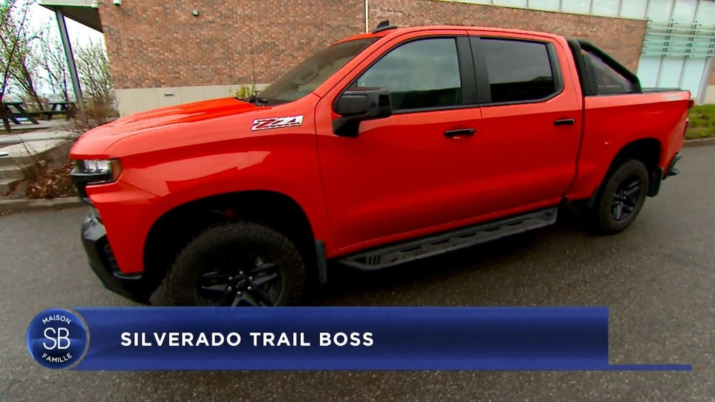Le Silverado Trail Boss