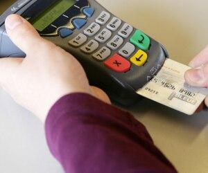 Bloc PME argent débit interact paiement
