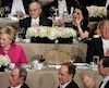 Donald Trump and Hillary Clinton attend the Alfred E. Smith Memorial Foundation Dinner