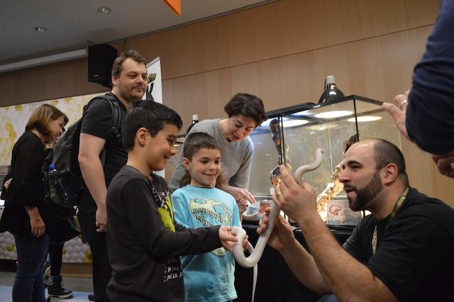Brian Papucciyan, copromoteur du Salon des reptiles