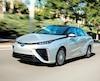 La Toyota Mirai est la première automobile à pile à hydrogène de série offerte au Canada.