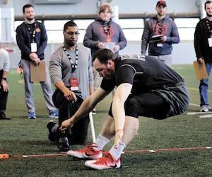 Mathieu Betts fera l'impasse sur le camp d'évaluation de la LCF du 22 au 24 mars à Toronto. La décision a été prise après le résultat de ses tests physiques. Son agent Sasha Ghavami a jugé que son protégéavait plus à perdre qu'à gagner.