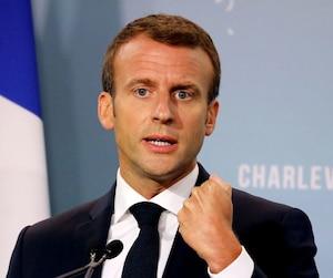«Je souhaitais mettre à l'honneur une ville de province. Et c'est une ville qui m'est chère dans une région qui me l'est tout autant», a précisé Emmanuel Macron.