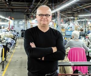 Daniel Langlois, directeur de Ballin, à son usine de Saint-Césaire, près de Montréal.