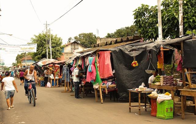 Balade au marché public de Masaya.