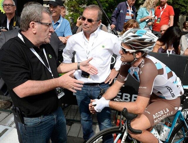 Action du 6e Grand Prix cycliste de Québec, vendredi le 11 septembre 2015.