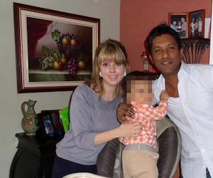Shakti Ramsurrun et Anne-Katherine Powers ont eu le coup de foudre l'un pour l'autre sur un bateau de croisière où l'accusé travaillait.